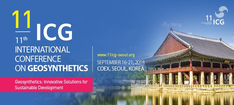ICG Seul Korea 11 Międzynarodowa Konferencja  Geosyntetyków               16 – 21.09.2018  Platynowy Sponsor