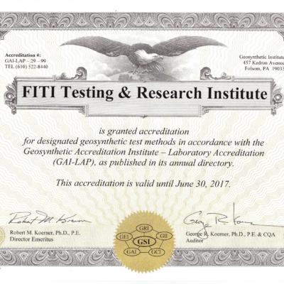 FITI GAI-LAP Certificate(GSI)-1